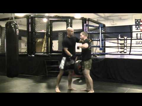 MMA/Muay Thai Clinch Position Drill Image 1