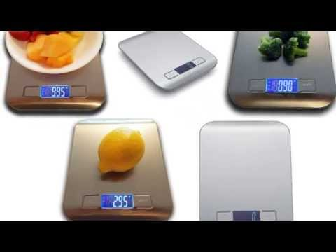 Digital Kitchen Scale - Pronto Precision Plus