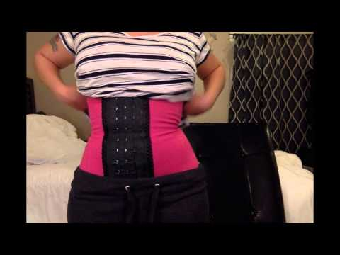 Waist training update before and after pics!