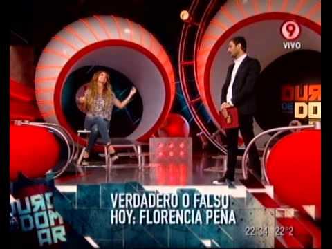 Verdadero o falso Florencia Pe ña (parte 1).18-11-11