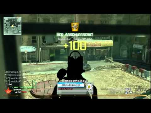 Nuke ohne Killstreaks auf Skidrow mit P90 | Modern Warfare 2 | Commentary (german/deutsch) | m4xfps