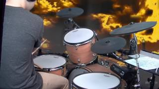 🎶 Mic Righteous - All Dressed Up - Drum Cover (DrummerMattUK)