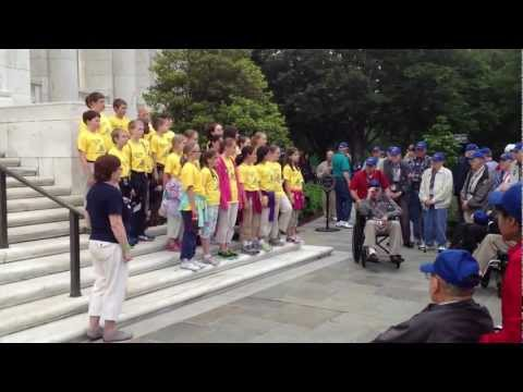 Bethany Christian School Students Sing to WW-II Veterans, Part 1 of 3