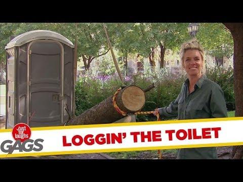 Loggin' the Toilet Prank