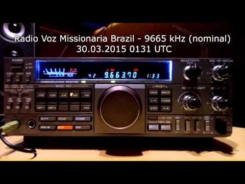 Radio Voz Missionaria Brazil 9665 kHz