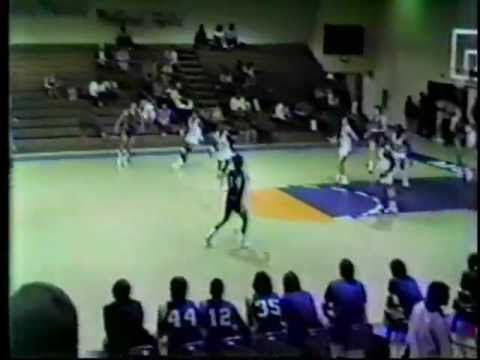 Airport High School Basketball 1986 vs. Midland Valley 2/18/86 3rd Quarter