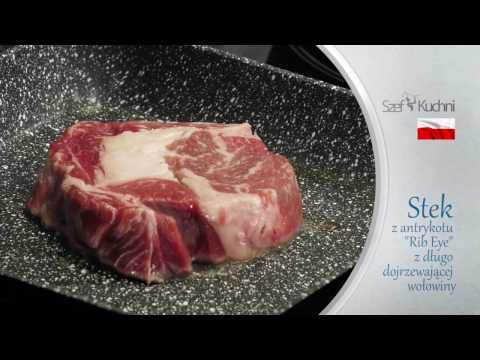 Stek Z Antrykotu - Rib Eye Z Długo Dojrzewającej Wołowiny