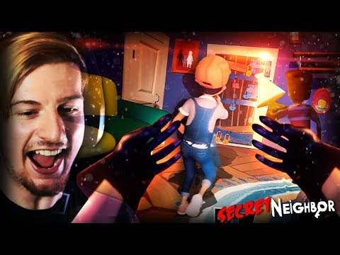 PLAYING AS THE NEIGHBOR.    Secret Neighbor (MULTIPLAYER) This Is AWESOME!! thumbnail