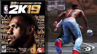 NBA 2K19 News #1 - LeBron James Cover & New Feature? 20th Anniversary Edition