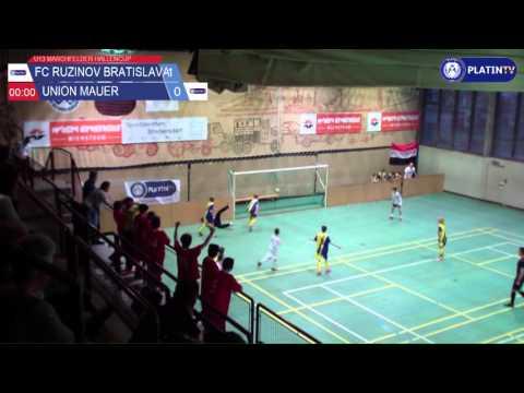 Tor -  FC Ruzinov Bratislava / Union Mauer am 13.02.2016 17:25