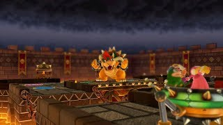 Mario Party 10 Bowser Party #226 Toadette, Wario, Spike, Peach Chaos Castle Master Difficulty