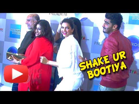 Deepika Padukone Arjun Kapoor Shake Their Bootiya At Vogue Fashion Night Out | Uncut Video Part 2