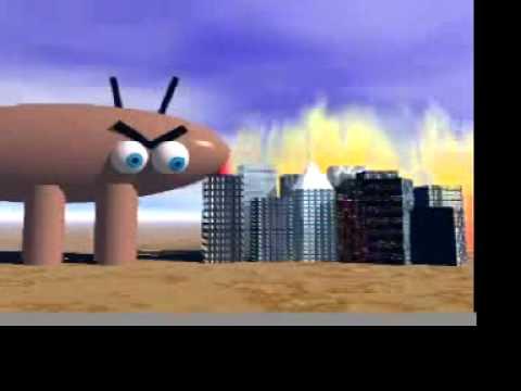 Bug's Revenge - An Original Balboa City School Cartoon - 04/16/2012