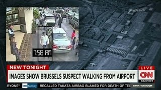 Brussels: Man in White traced using surveillance cams