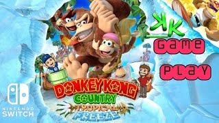 Donkey Kong Country Tropical Freeze with Funky Mode - Nintendo Switch