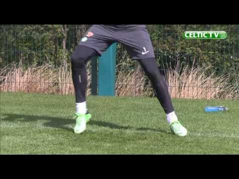 Celtic FC - Goalkeeper Training May 2013