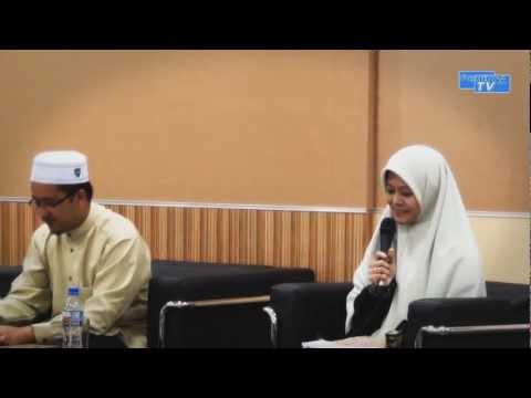 """CAFE CINTA- Fatimah Syarha """"Menghindari Cinta Sebelum Kahwin"""" Part 1"""