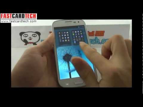 Incredible Samsung Galaxy S3 i9300 1:1 clone HDC I9300 GALAXY SIII Pro Same system same size