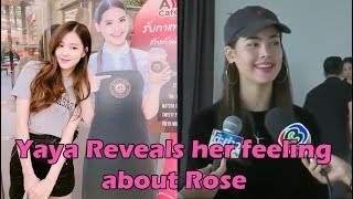 Yaya Urassaya reveals her feeling about Rose's photos with her standee
