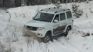 OFFROAD UAZ PATRIOT 2014 2.7 5MT 4x4