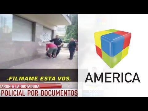 Polémico video: Requisa policial y elogios a la dictadura