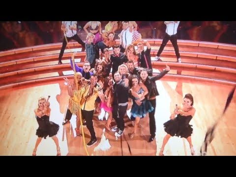 FULL DWTS 18 Week 6 LMFAO's Redfoo : Opening Group Number - Stars, Pros & Troupe - (April 21st) klip izle