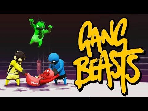 5 VERSUS 2! - GANG BEAST