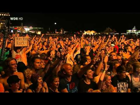 Bullet for My Valentine Live at AREA 4 Festival 2012
