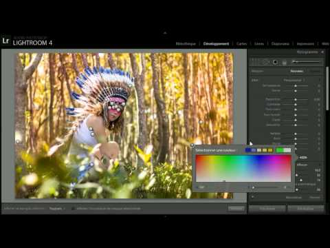 Indian Girl Photo Editing  - Nouvel Photography video