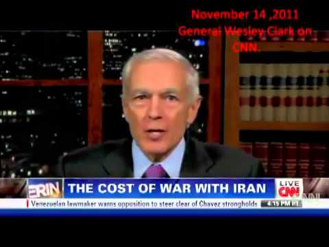 General Wesley Clark admits Arab uprising & WW3 and Iran by 2012