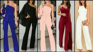 Outstanding And Stylish Party Wear Jumpsuits Dress Design