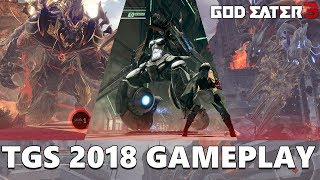 God Eater 3 - Taking on Anubis, Havakiri, & Barbarius | Tokyo Game Show 2018 Gameplay