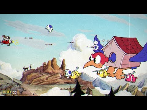 Cuphead: Wally Warbles Boss Fight #9