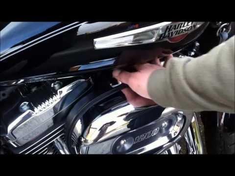 Idle Control für Harley Davidson drehe den Leerlauf herunter wie beim Vergaser.American-Motors