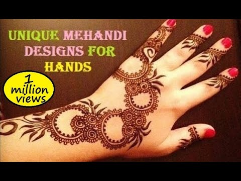 Unique Mehandi Designs For Your Hands - Mehndi Designs & Pictures video