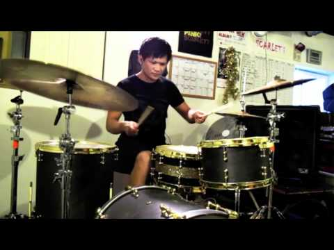 All Time Low - I Feel Like Dancin'  *drum Cover* video