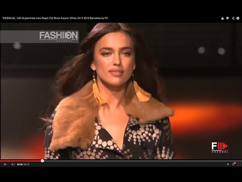 """DESIGUAL"" with Supermodel IRINA SHAYK Full Show Autumn Winter 2014 2015 Barcelona by FC Download"