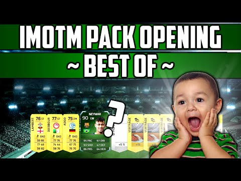 FIFA 14 - Best Of iMotM Pack Opening (IFs, iMotms,...) + Update [Deutsch]