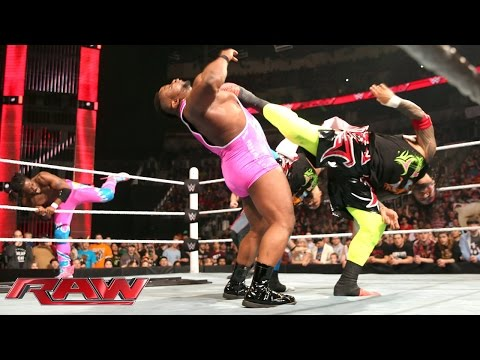 Eight-Man Tag Team Tables Match: Raw, February 8, 2016