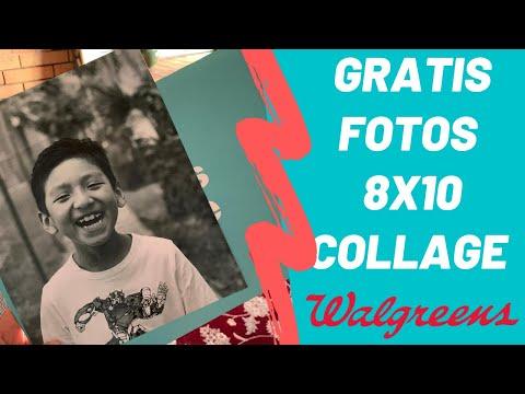 Cómo pedir fotos collage gratis en Walgreens