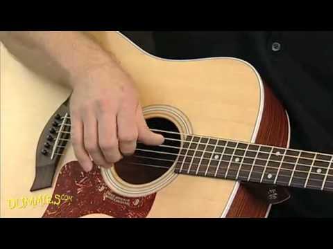 Acoustic Finger Style Guitar Lesson - Five Folk Finger ...