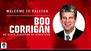 2019.01.30 Introduction of NC State Athletic Director Boo Corrigan