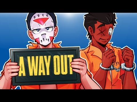A Way Out - Escape From Prison! Ep. 1 With Cartoonz!