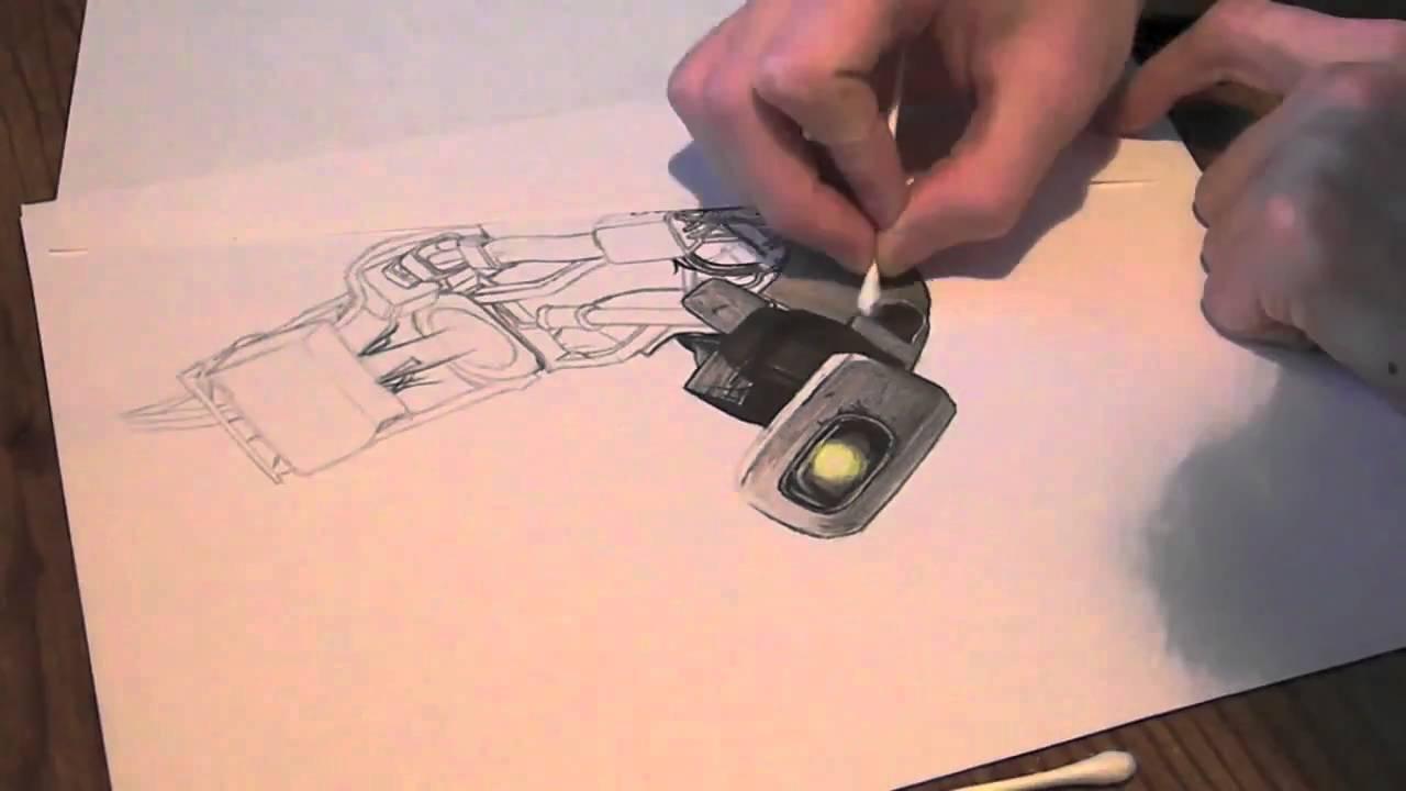 Portal Glados Drawing Glados Portal 2 by Myawho