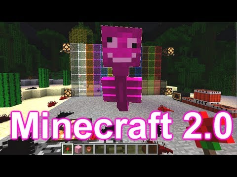 Minecraft 2.0 Update Pink Witer?