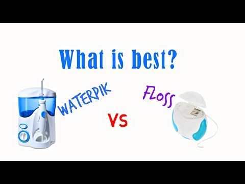 Flossing VS Waterpik (Which one is better?)
