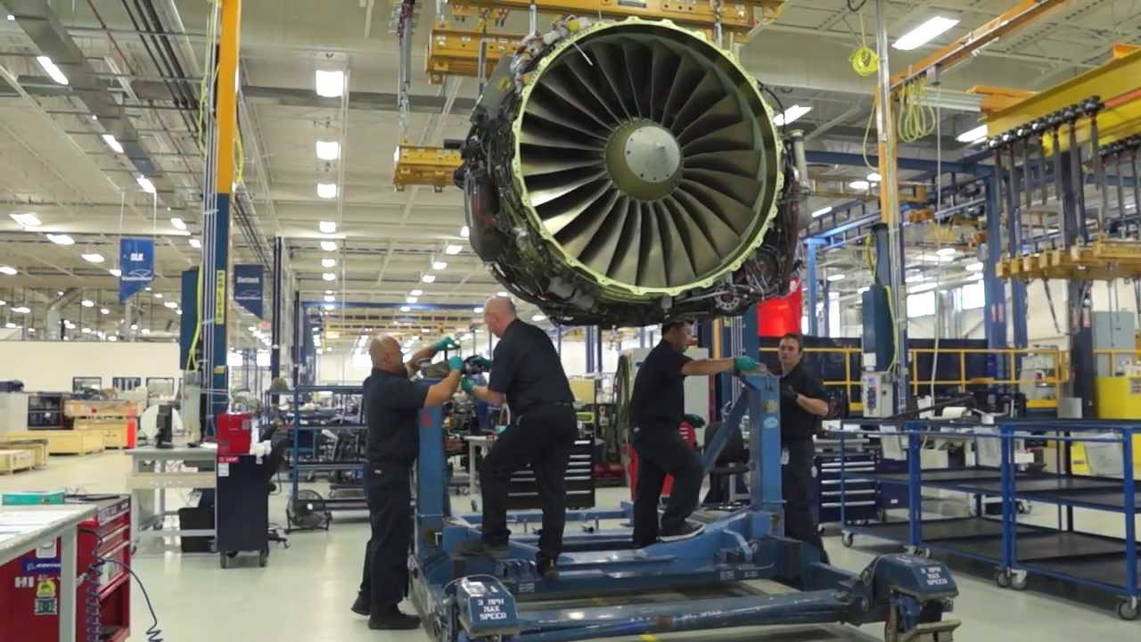 StandardAero Performs World Class MRO for CF34 and CFM56-7B Engines - YouTube