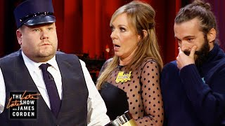 James Corden's Train-Themed Show Derails w/ Allison Janney & Jonathan Van Ness