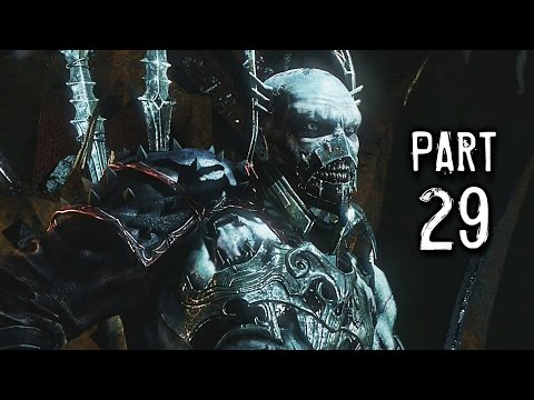 Middle Earth Shadow of Mordor Walkthrough Gameplay Part 29 - Lord of Mordor (PS4)