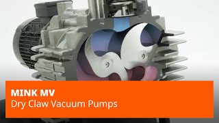 Mink MV Series Claw Vacuum Pumps – Busch Vacuum Pumps and Systems